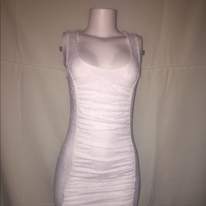 Guess white dress  size S/P